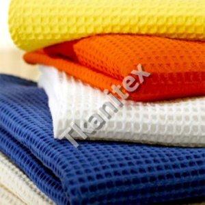 ткань вафельная полотенечная