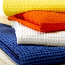 ткань вафельная для халатов