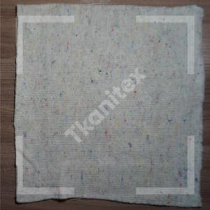Полотно холстопрошивное светлое (строчка 5 мм) Ширина 80 см. Плотность 220 г